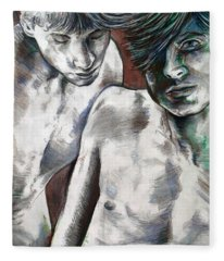 Entanged Boys Fleece Blanket