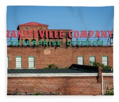 Enterprise Mill - Graniteville Company - Augusta Ga 1 Fleece Blanket