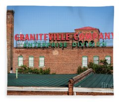 Enterprise Mill - Graniteville Company - Augusta Ga 2 Fleece Blanket