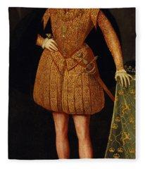 Erik Xiv, 1533-1577, King Of Sweden Fleece Blanket