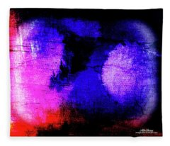 Escaping Depression Fleece Blanket