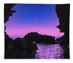 Espiritu Santo Island Fleece Blanket