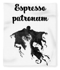 Espresso Patronum Fleece Blanket