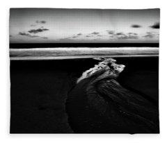 Estuary To The Sea Fleece Blanket