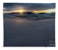 Evening Glory Fleece Blanket