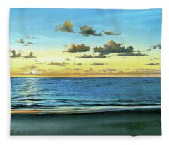 Evening Light  Fleece Blanket