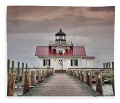 Evening Marsh Fleece Blanket