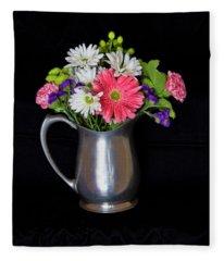 Everlasting Bouquet  Fleece Blanket