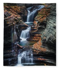 Every Teardrop Is A Waterfall Fleece Blanket