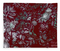 Exotic Harmony Fleece Blanket