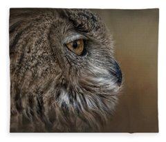 Eye Of Wisdom  Fleece Blanket