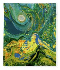 Eyes Of The Stars Fleece Blanket