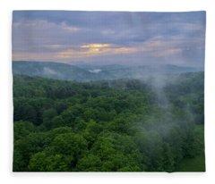F O G Fleece Blanket