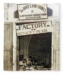 Factory Of Mother Of Pearl Fleece Blanket