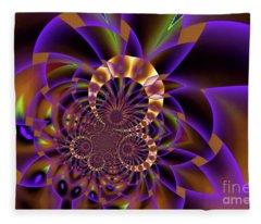 Faded Purple Fleece Blanket