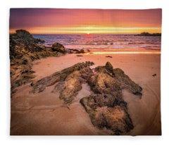 Fading Light Fleece Blanket