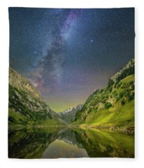 Faelensee Nights Fleece Blanket