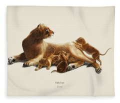 Fails Leo Illustrated By Charles Dessalines D  Orbigny  1806 1876  Fleece Blanket