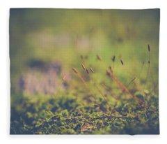Fairy Hunt Fleece Blanket