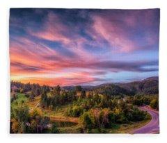Fairytale Morning Fleece Blanket