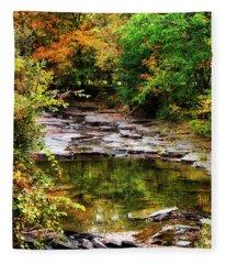 Fall Creek Fleece Blanket