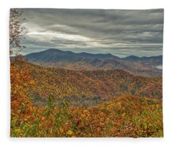 Fall Overlook Fleece Blanket