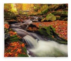 Fall Power Fleece Blanket