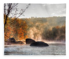 Fall Spirits Fleece Blanket