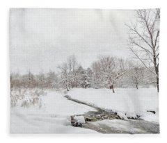 Fallbrook Meadow Fleece Blanket