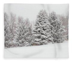 Fallbrook Pines Fleece Blanket