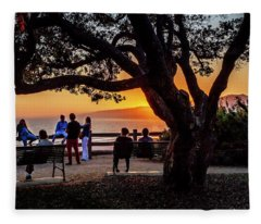 Family Outing - Palisades Park Fleece Blanket