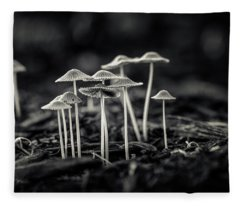 Fanciful Fungus-2 Fleece Blanket