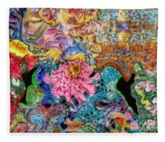 Fascinating Color Fleece Blanket
