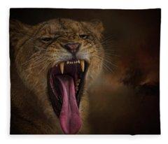 Fearless  Fleece Blanket