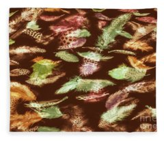 Feathery Flights Fleece Blanket