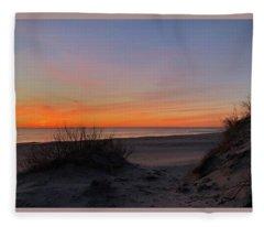 February 26, 2019 Pea Island Fleece Blanket