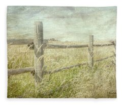Fenced In Fleece Blanket