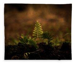 Fern Of Life Fleece Blanket