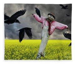 It's Great To Be Needed Fleece Blanket