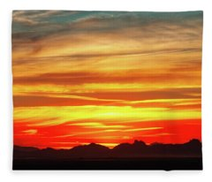 Fleece Blanket featuring the photograph Final Glimpses by Rick Furmanek