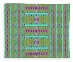 Finding Balance Variation 2 Fleece Blanket