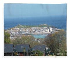Fine Art Photo 5 St Ives Fleece Blanket