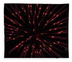 Fireworks Attraction Fleece Blanket
