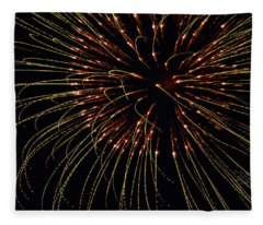 Fireworks Bad Hair Day Fleece Blanket