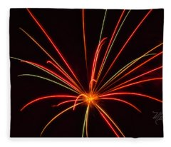 Fireworks Blow My Mind Fleece Blanket