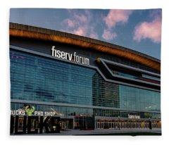 Fiserv.forum Fleece Blanket