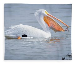 Fish Tail Fleece Blanket