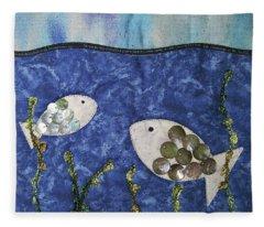 Fishy Fishy Fleece Blanket