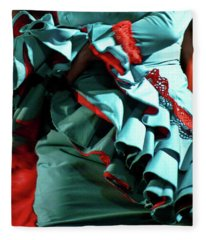 Flamenco 41 Fleece Blanket