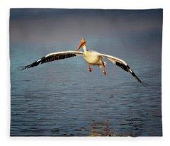 Flaps Down Fleece Blanket